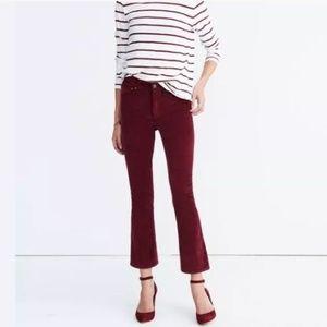 Madewell Velvet Jeans